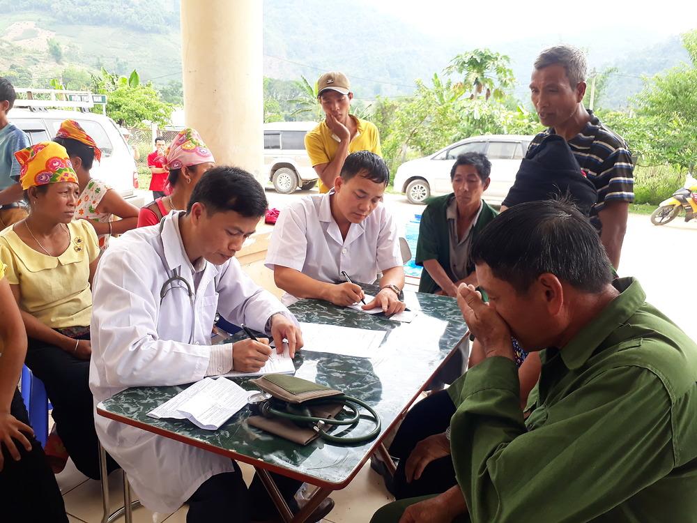 Chương trình khám sức khoẻ để tầm soát bệnh cho người nghèo