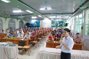 Triển khai tập huấn kiến thức về bệnh tan máu bẩm sinh tại tỉnh Tuyên Quang