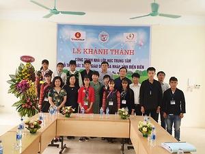 Quỹ Thiện Tâm bàn giao công trình nhà lớp học cho Trung tâm Hỗ trợ phát triển giáo dục hoà nhập tỉnh Điện Biên
