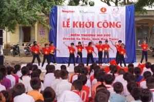 Khởi công điểm trường mơ ước tại Kon Tum