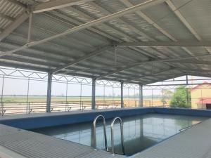 Khánh thành bể bơi phòng chống đuối nước đầu tiên trong mùa hè năm nay