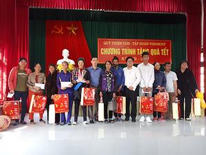 Quỹ Thiện Tâm (Tập đoàn Vingroup) tặng 2.000 suất quà Tết cho hộ nghèo tỉnh Quảng Ninh